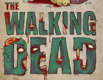 """Posters for """"The Walking Dead"""""""