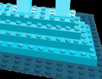 Lego House Illustration