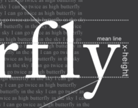 Butterfly - A Typography Study