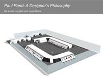 Exhibition_Paul Rand, a designer's philosophy