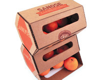 Sanose Clementines Package Design