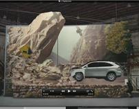 Lexus Actively Safe Campaign