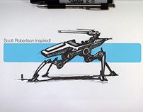 Scott Robertson Inspired Sketching!