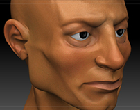 3D character modelling