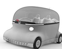 Honda Puyo - Alias Modelling Project