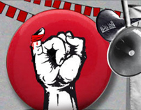 Campaign Website for Bleed India, spoofing Lead India