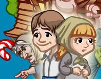 Hansel & Gretel - 3D Interactive Pop-Up Book