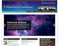 UW-Madison Astronomy Department Website