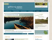 Gathering Waters Conservancy Website