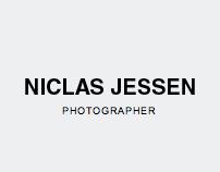 Corporate Website, Photographer Niclas Jessen