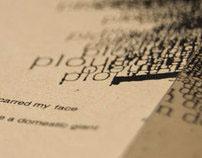 The Womb - Typographic Intepretation