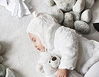 Hush, little bear sleeps...    Christmas Card 2011