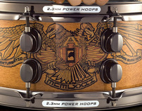 Chris Adler Signature Mapex snare drum