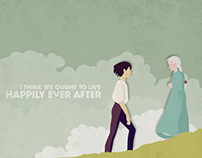 Posters: Howl's Moving Castle