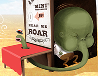 BMW Mini - 'Hear Me Roar' campaign