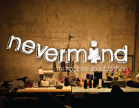 Nevermind boutique branding