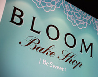 Bloom Bake Shop Branding