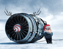 Merry Christmas delivered by BRASIL Airlines