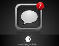 GUI || iOS 5 sms icon remixed