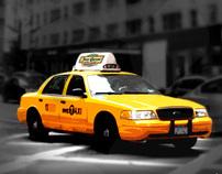 New York Taxi - print