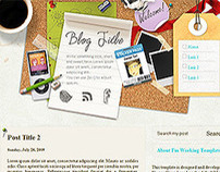 I'm Working - Blogger Template