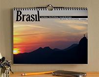 """Brasil Calendar """"O Que Eu Vejo"""""""