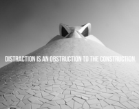 Distraction is an  Obstruction to the Construction