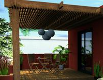 Pedraza's Roof Terrace