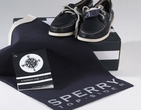 Sperry Authentic Original Packaging Design