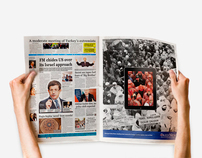 Hurriyet Daily News on iPad