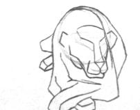 Rotating Lion