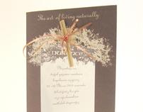 Perfumed invitation card