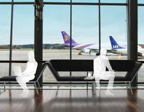 Airport Furniture Concept   Stockholm Arlanda Airport