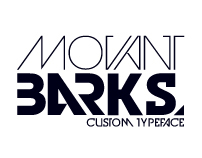 MOVANT BARKS™ Typeface