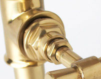 PIPE GOLD | decorative luminaires