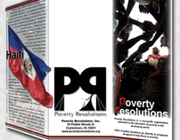 Poverty Resolutions Brochures