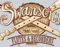 Swanson's Hand-Carved Flutes and Recorders