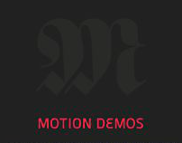 Motion Graphics Instruction Slides 2011