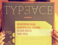 typeface - newsletter