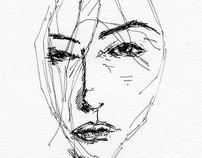Ink based illustrations