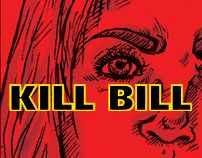 Kill Bill: Infographic posters