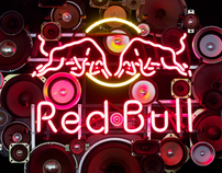Red Bull - custom sign