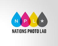 Nations Photo Lab Logo Marks
