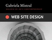UX/UI WEB SITE DESIGN MUSEUM GABRIELA MISTRAL 2015