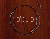 o'pub brand identity
