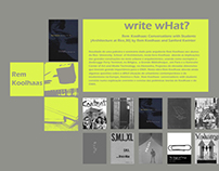 Rem Koolhaas - Architecture (Academic)