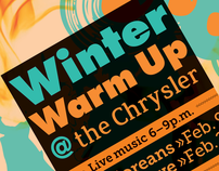 Winter Warm Up Concert Poster