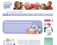 Crossroads Care Fundraising Website