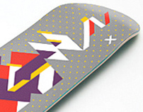 """Past Present Future"" . Skate Decks"