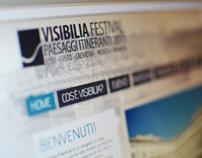 Visibilia festival // Website